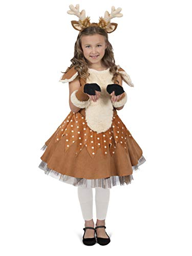 Princess Paradise Doe The Deer Costume, Multicolor,