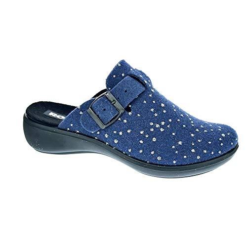 Donna jeans 540 540 Pantofole Ibiza Romika 332 Home Blu wTxnZfWqIS