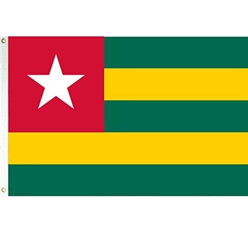 Togo Flag 3ftx5ft Polyester