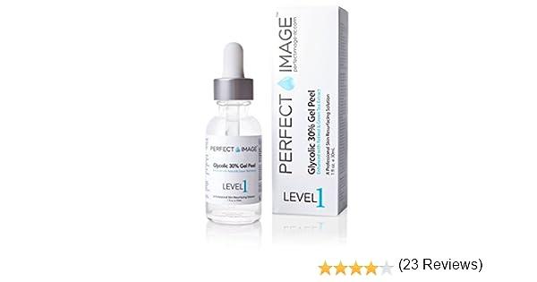 Perfect Image - Peeling gel con 30% ácido glicólico – enriquecido con retinol y extracto de té verde (peeling químico profesional)