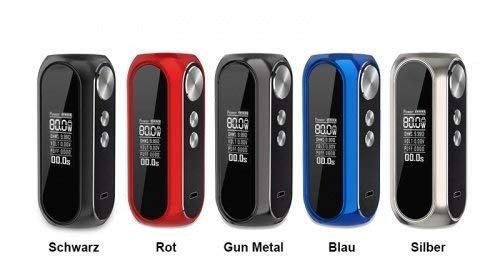 OBS Cube 80w TC 3000 mAh Box Mod Akkuträger Farbe Gun Metal