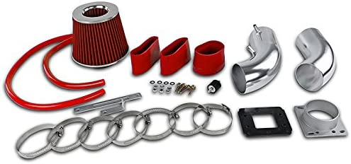 88-95 Pickup 4Runner T-100 3.0L V6 COLD AIR INTAKE SYSTEM w// FILTER RED