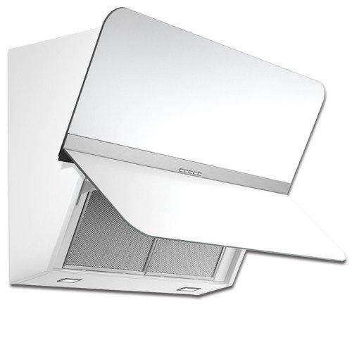Falmec-Campana de pared Flipper color blanco satinado 55 cm ...