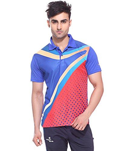 Sport Sun Sportswear Sublimation Print Royal Half Sports T-Shirt (M ... a974ea552