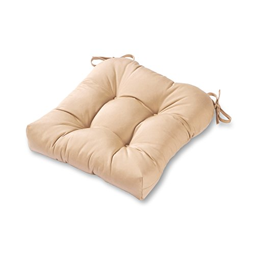 Greendale Home Fashions 20-inch Outdoor Chair Cushion, Stone