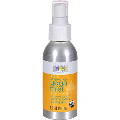Aura Cacia Purify Aromatherapy - Yoga Mist Organic Motivating Aura Cacia 4 oz Spray