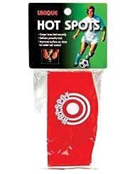 Unique Sports Soccer Hot Spots Shoe Lace Cover, Red