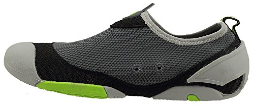 Women's Cudas Water York Sole Charcoal Black Shoe Dual 6xdZqwP