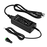 ALITOVE 5V 5A AC to DC Power Supply Adapter Converter Charger 5.5x2.1mm Plug AC 100V~240V Input for WS2812B WS2811 SK6812 LED Pixel Strip Light CCTV Camera Security System Computer Project