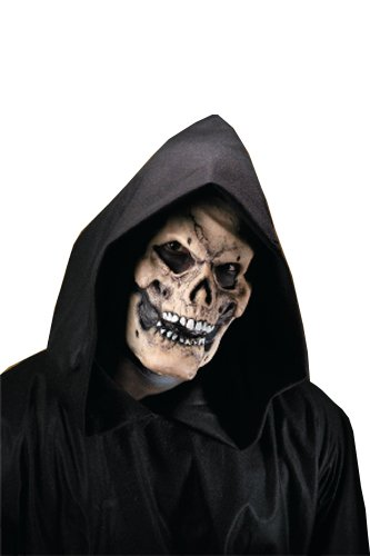 Rubie's Costume Reel F/X Bones Skull Face Kit, White, One Size