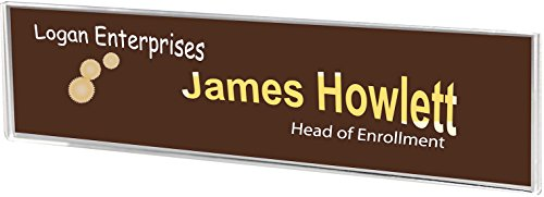 Wall Mount Name Plate Sign Holder 8-1/2