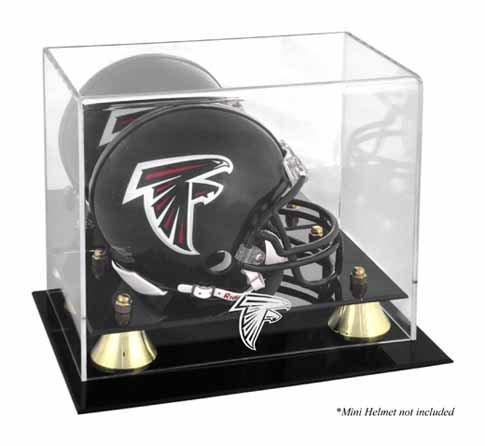 Mounted Memories Atlanta Falcons Mini Helmet Display Case
