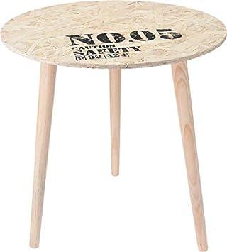 Tisch Rund 50 Cm.Design Beistelltisch Holz Tisch Rund 50 Cm Side Table Couchtisch Nachttisch