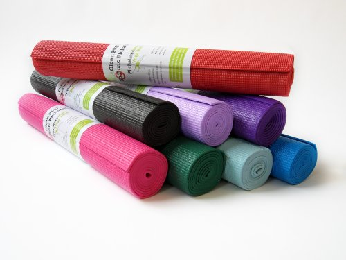 "Bean Products Kid Size Yoga Mat 1/8"" Thick, 24"" Wide, 60"" Lo"