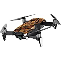 MightySkins Skin for DJI Mavic Air Drone - Stacked Wood | Min Coverage Protective, Durable, and Unique Vinyl Decal wrap cover | Easy To Apply, Remove, and Change Styles | Made in the USA