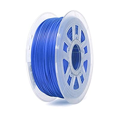 Gizmo Dorks Silk PLA 3D Printer Filament 3mm (2.85mm) 1kg, High Gloss Blue
