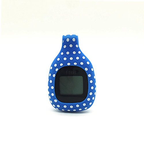 For Fitbit Zip Fitness Tracker Candy Color Silicone Clasp Replacement Clip Case...