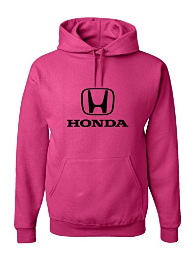 Sweatshirt Hoody Honda (Honda Deep Pink Hooded Sweat Shirt)