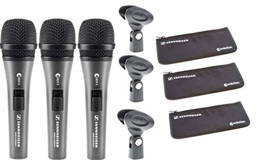 ve Vocal Microphone with On/Off Switch - 3-pack ()