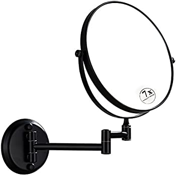 Amazon Com Dowry Magnifying Mirror Wall Mount Oil Rubbed