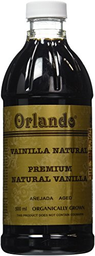 Pure Organically Grown Mexican Vanilla (Amber Colored) (16 Fl. Oz.) (Vanilla Extract Pure Organic)