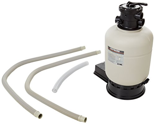 Hayward S166TPAKS Pro Series Top-Mount Sand Filter 16-Inch with Top-Mount Valve and Base (Pro Top Mount Series)