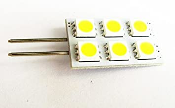 1 x 12V 18 SMD LED G4 PIN GLOBE LIGHT BOAT//CARAVAN//CAR