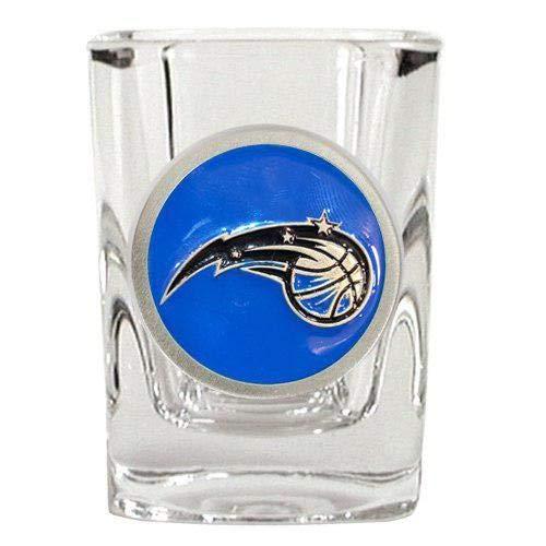 Great American Products NBA Orlando Magic Metal Emblem Square Shot Glass 2oz