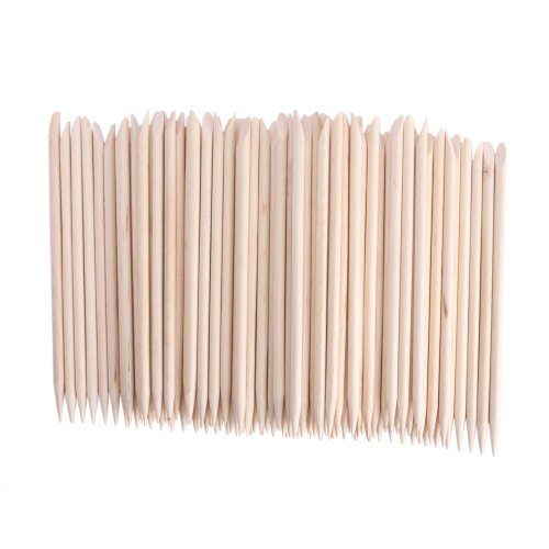 10,000 Pcs Nail Art Orange Wood Stick Sticks Cuticle Pusher Remover Manicure Pedicure Tool by Apollo