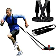 HORKEY Harness Workout Resistance and Assistance Trainer Physical Training Resistance Rope Kit Improving Speed