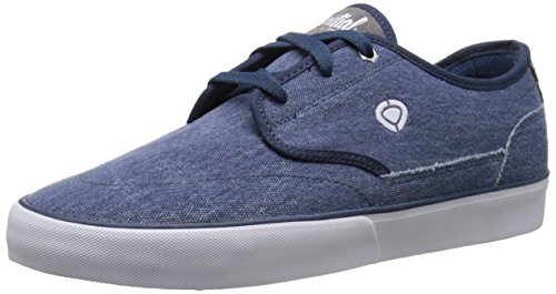 C1RCA Men's Essential-M Skateboard Shoe, Washed Blue/Frost for sale  Delivered anywhere in USA