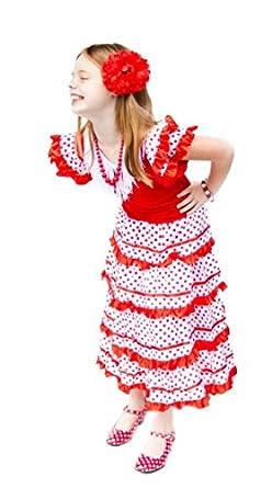Amazon.com: La Senorita Spanish Flamenco Dress Princess ...