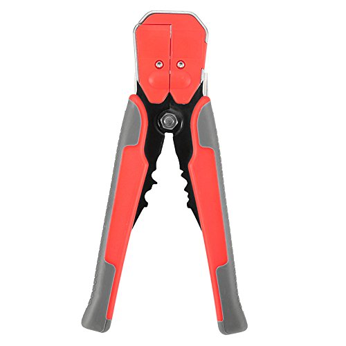 Paron JX-1301 Professional Multifunctional Automatic Cable Wire Cutter Stripper Crimper Pliers Terminals Crimping Tools Orange