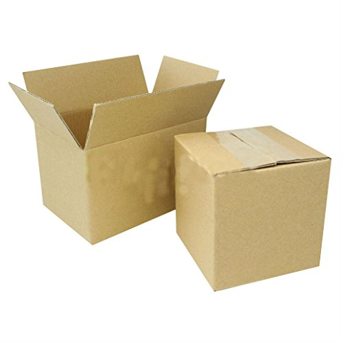 100 7x5x4 Cardboard Packing Mailing Moving Shipping Boxes Corrugated Box Cartons from Unknown