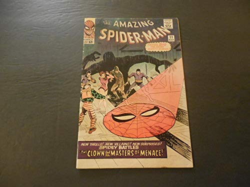 Amazing Spider-Man #22 Mar 1965 Silver Age Marvel Comics Masters Of Menace