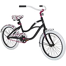 "Hello Kitty Girls Hello Kitty Cruiser Bike, Black/White/Pink, 20""/One Size"