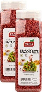 Badia Bacon Bits Imitation 14 oz Pack of 2