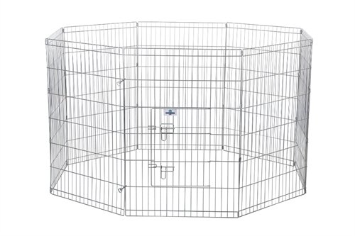 (Confidence Pet Metal Dog Playpen/Exercise Pen (24