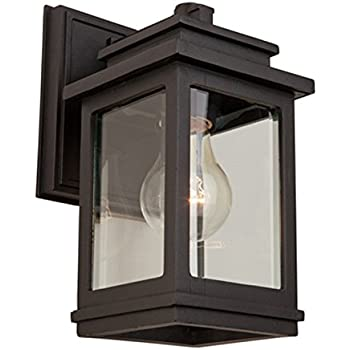 oil rubbed bronze outdoor lights beach house fremont light ac8190orb oil rubbed bronze outdoor ac8291orb amazoncom