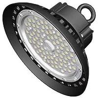 CY LED 150W UFO LED High Bay Lighting, UL Listed, 300W HPS/MH Bulbs Equivalent, 18500lm, Waterproof, Daylight White…