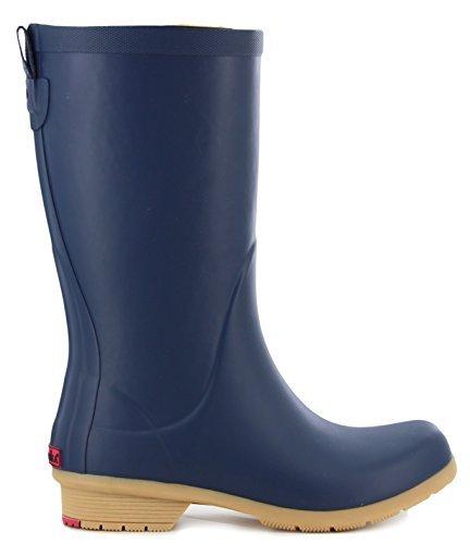 Chooka Bainbridge Fleece Lined Rain Boot, Navy, 9 M US