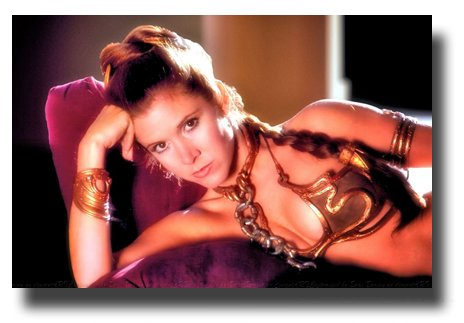 (Star Wars Poster Movie Promo 11 x 17 inches The Empire Strikes Back Princess Leia Slave Wide)