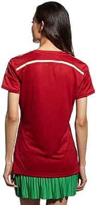 adidas - Camiseta de fútbol nacional de España para mujer, Mujer, color rosso, tamaño XS: Amazon.es: Ropa y accesorios