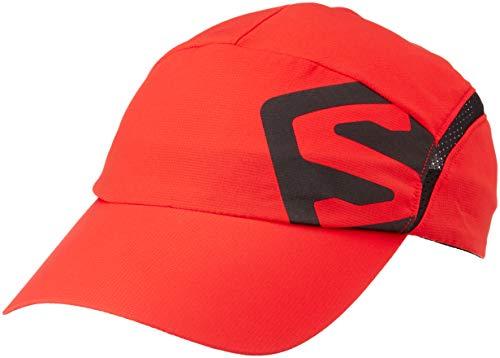 Salomon Unisex Xa Cap, FIERY RED/Black, S/M