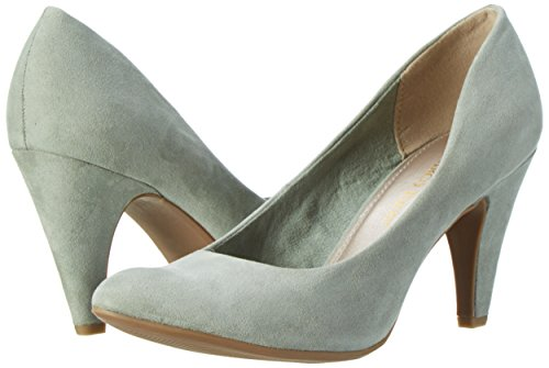 Para Marco Tacón Mujer 22428 Tozzi Verde 768 mint Zapatos De P7rnXRq7