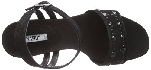 Donna Piu Women's Altea Sling Back Sandals Black (Nero 013) DVV6Si3cz