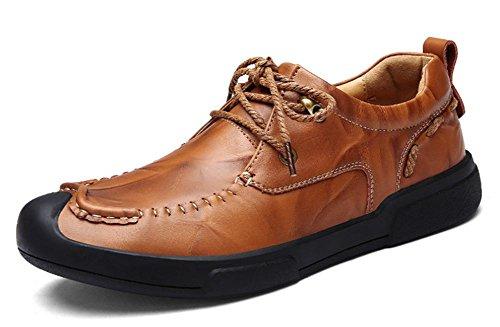 La nueva tendencia de los zapatos de los hombres zapatos de cuero transpirable moda negocio 3