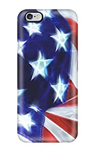 High-quality Durability Case For Iphone 6 Plus(usa Flag Celebration June Nature Other)