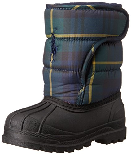 Polo Ralph Lauren Kids Hamilten EZ Winter Fashion Boot , Nav