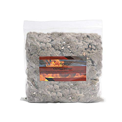 (Skyflame Rock Wool Mixed with Vermiculite- 6 oz Bag)